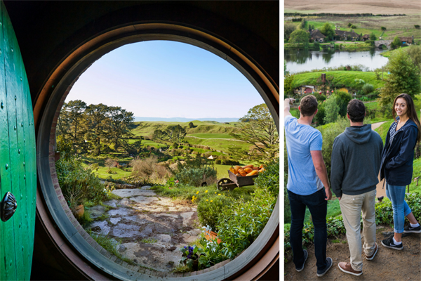 Hobbiton Movie Set Farm Tour : World Famous Destination in New Zealand